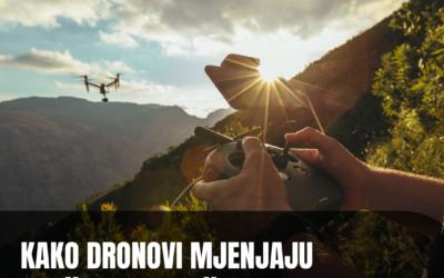 Kako dronovi mijenjaju društvene mreže?