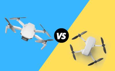Usporedba dronova DJI mini 2 vs Mavic mini